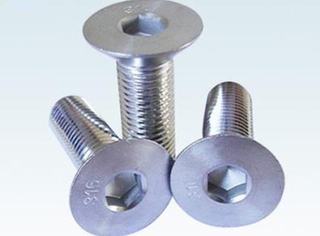 Hex Slotted titanium Nut Conical Washer Nuts