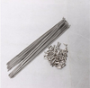Titanium alloy spoke Gr5 titanium spoke 2mm/14g spoke 2x285mm 2x286mm 2*292mm thread pitch of 2.3mm
