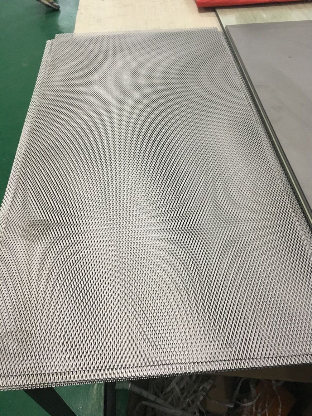 Grade 1 Pure titanium mesh sheet customized size
