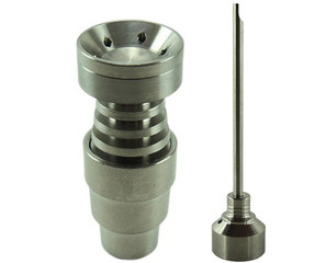 domeless titanium nail14&19mm 4 IN 1,with male and female joint and five hole